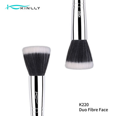Flat Shape Fan Brush Luxury Makeup Brushes For Powder