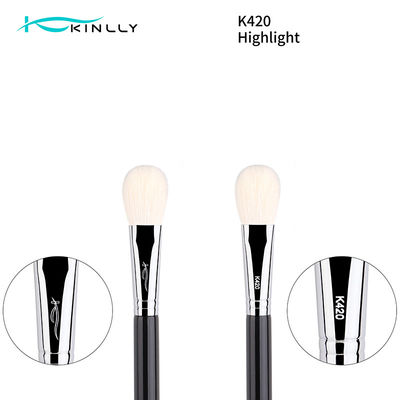 White Goat Hair Luxury Makeup Brushes For Face