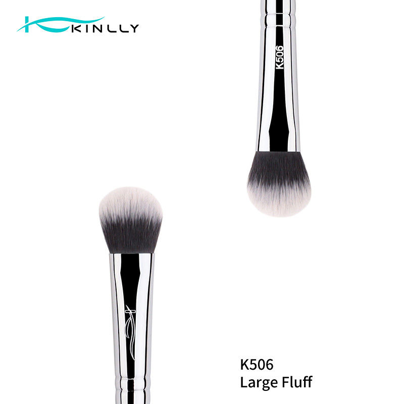 Synthetic Hair ISO9001 Double Ended Eyeshadow Brush